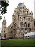 TQ2679 : Natural History Museum, South Kensington - London by Roy Hughes