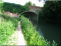 SU7451 : Colt Hill bridge - Basingstoke canal by Sandy B