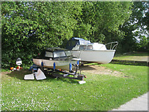 SU7451 : Dry dock - Galleon Marine by Sandy B