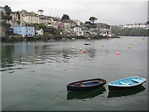 SX1251 : Polruan and River Fowey by Philip Halling