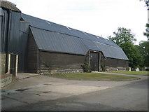 TL3852 : Harlton: Manor Farm Barn by Nigel Cox