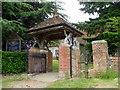 SU3020 : Lych gate, The Church of St Margaret of Antioch by Maigheach-gheal