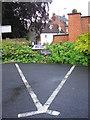SU1868 : A triangular parking space by Virginia Knight