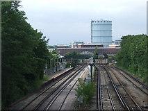 TQ2976 : Wandsworth Road station by Malc McDonald