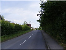 TM2863 : B1120 Badingham Road by Adrian Cable