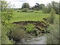 SE7476 : Erosion downstream from Newsham Bridge by Pauline E