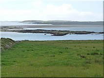 L5756 : Illaunnamona and Omey Strand by Oliver Dixon