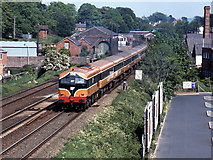J2664 : Train leaving Lisburn station by The Carlisle Kid