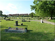 SU5707 : Wickham Road Cemetery (33) by Basher Eyre