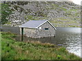 SH6560 : Fishing lodge for Ogwen Valley Angling Club by Dave Spicer