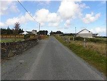 B9231 : Road at Calhame by Kenneth  Allen
