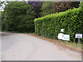 TM2544 : The entrance to Sheep Drift Farm by Geographer