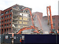 TQ3481 : Demolition of Goodmans Fields by Roger Jones