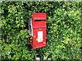 SJ4472 : Post box at Wimbolds Trafford by Jeff Buck