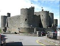 SH5831 : Harlech Castle. by Derek Voller