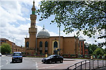 SO9199 : Mosque on the A449 roundabout by Bill Boaden