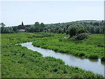 TQ5203 : Cuckmere River north of Alfriston by nick macneill