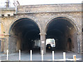 TQ3479 : Linsey Street arches (1) by Stephen Craven