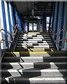 SU4417 : Footbridge, Southampton Airport Parkway station by Robin Stott