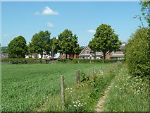 SK3569 : Footpath towards Walton Back Lane by Andrew Hill