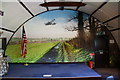 TM1881 : Mural at Thorpe Abbotts Museum by Glen Denny