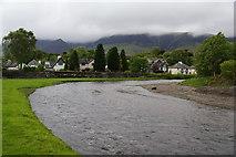 NY2623 : The River Greta at Keswick by Bill Boaden