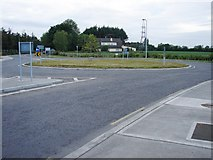 N9831 : New roundabout by Ian Paterson