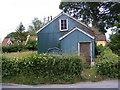 TM1659 : Pettaugh Village Hall by Adrian Cable