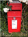 TM1659 : Church Road Post Office Postbox by Adrian Cable