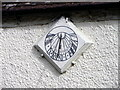 NZ2115 : Sundial, The George Hotel by Maigheach-gheal