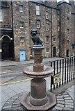 NT2573 : Greyfriars Bobby Fountain by N Chadwick