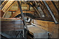 TL9773 : Stanton Postmill - Bin floor by Ashley Dace