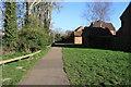 TG1001 : Riverside walk in Wymondham by Glen Denny