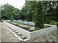 TQ3067 : Lanfranc School memorial, Croydon Cemetery by Robin Webster