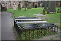 NT2573 : Mortuary Safe, Greyfriars Kirkyard by N Chadwick