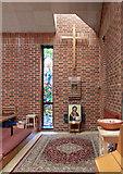 TQ3377 : St George, Coleman Road, Camberwell - Interior by John Salmon
