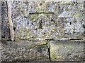 NZ2115 : Bench Mark, Pierce Bridge, Cliffe by Maigheach-gheal