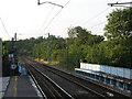 TL3112 : Railway tracks north of Hertford North station by Stephen Craven