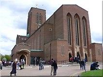 SU9850 : Guildford Cathedral by Nigel Mykura