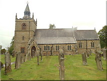 NY9371 : St Giles Church, Chollerton by Bill Henderson