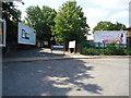 TQ1685 : Forecourt at Sudbury & Harrow Road railway station by Stacey Harris
