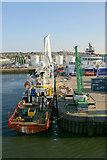 NJ9505 : MV Geo Prospector at Point Law, Aberdeen harbour by Mike Pennington