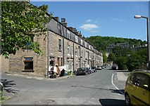 SD9927 : Victoria Street, Hebden Bridge by Humphrey Bolton