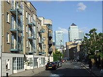 TQ3680 : Narrow Street, Limehouse by Malc McDonald