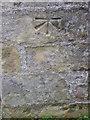 NZ1616 : Bench Mark, St Mary's Church by Maigheach-gheal
