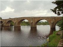 NY9170 : The North Tyne at Chollerford Bridge by Bill Henderson