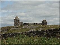 NZ0490 : Codger Fort by Bill Henderson