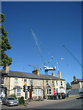 TL4557 : Cranes at CB1 - Hills Road by Given Up