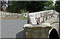 SE7485 : Sundial on Sinnington Bridge by Pauline E