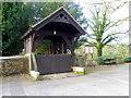SD5048 : Lych gate, St Peter's Church, Scorton by Maigheach-gheal